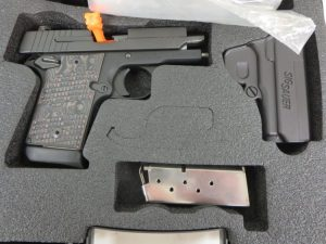 Used Sig Sauer P938 Extreme 9mm w/ case and extra magazine $595