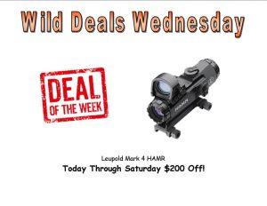 Wild Deals Wednesday - Through Saturday - Leupold Mark 4 HAMR $200 Off!