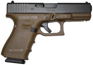New Glock 19 Gen 4 FDE 9mm $549