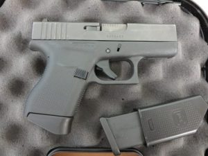 Used Glock 43 9mm w/ extra magazine and case $425