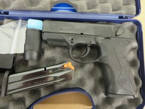 Used Beretta PX4 Storm Compact 9mm w/ extra magazine and case $395