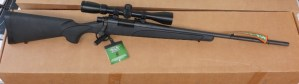 On Consignment:  Un-Fired Remington 700 .22-250 w/ scope and box $400
