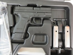 On Consignment:  Springfield XD Compact 9mm w/ 4 extra magazines and holster $450