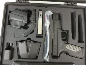 On Consignment:  Springfield XDM 9mm w/ gear $550