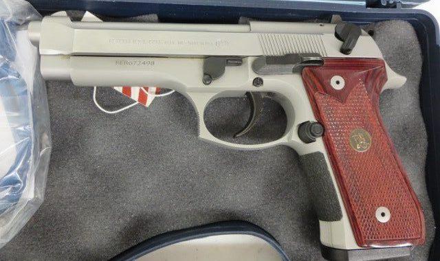 Used Beretta 92FS 9mm w/ hard case $595 – GunGrove com