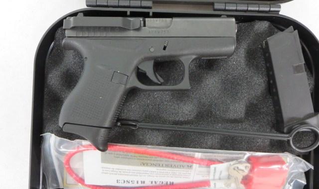 Used Glock 42  380 w/ extra magazine and case $350