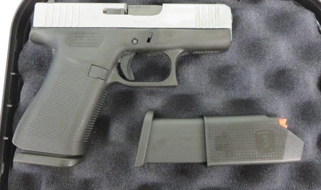 Used Glock 43x 9mm w/ case and extra magazine $395