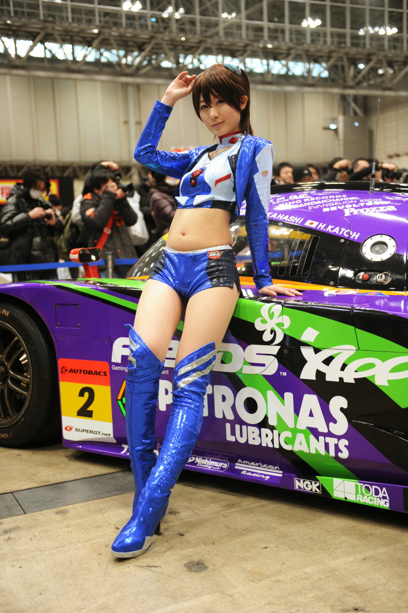 Live Wallpaper Girl Anime Evangelion Racing Wonder Festival 2012 Winter Racing Cars