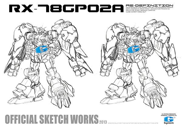 [G-System] 1/60 RX-78 GP02A Gundam: Added No.7 Large