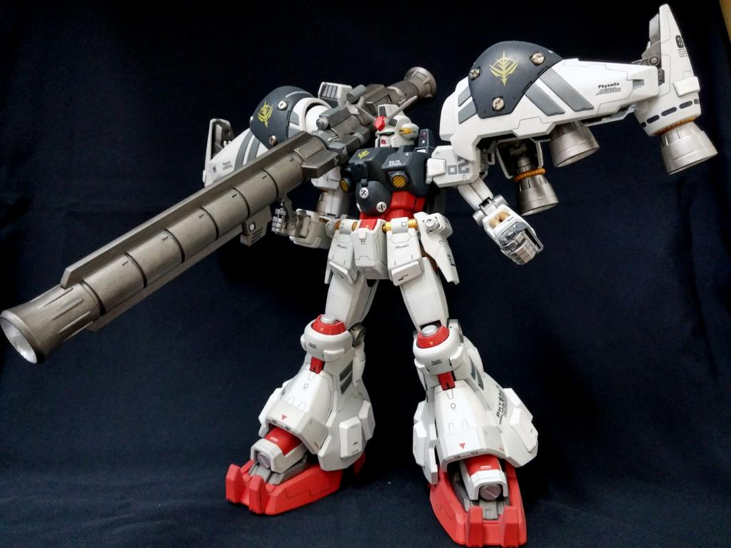 MG RX78GP02A Gundam Physalis Improved by AndyT882002