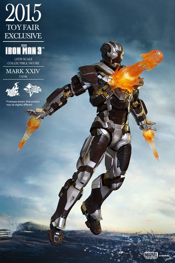 HOT TOYS 2015 Toy Fair Exclusive 16 IRON MAN Mark XXIV Tank Official PHOTO REVIEW Full Info