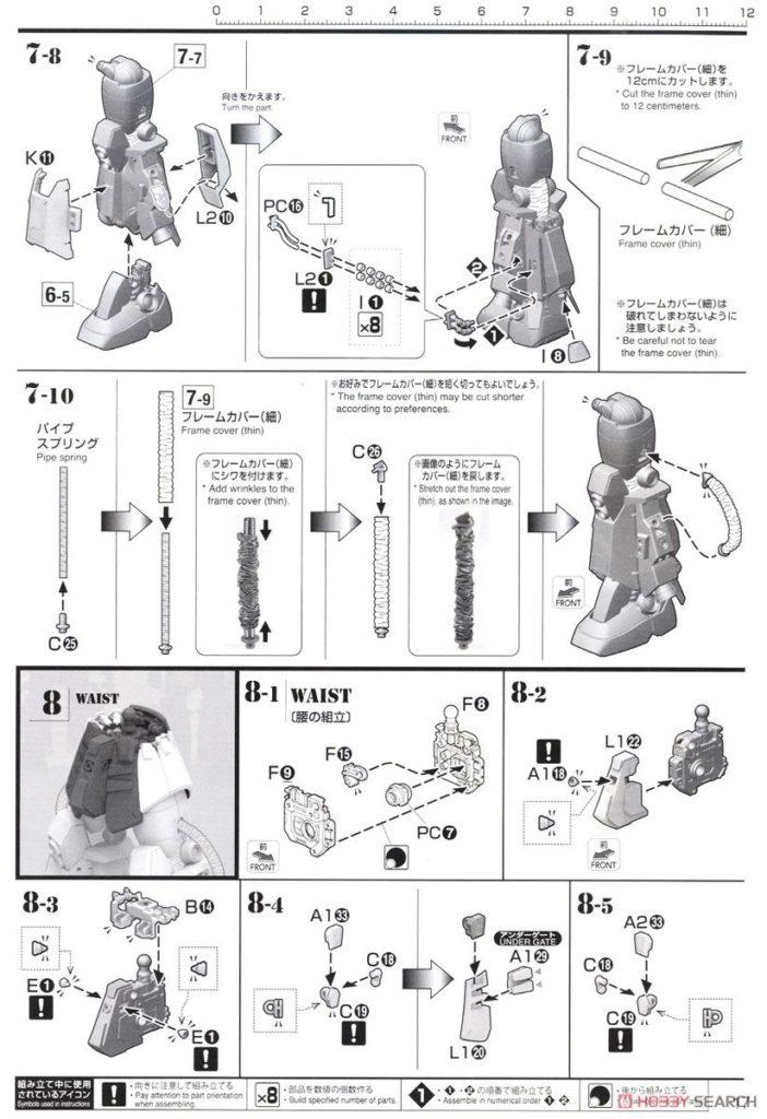 MG 1/100 PSYCHO ZAKU Ver.Ka THUNDERBOLT: ULTIMATE POST