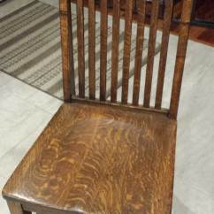 Wh Gunlocke Chair Living Room With Ottoman My Office Furniture Wood Casegoods Desking 4 Tiger Oak Chairs From W H Company