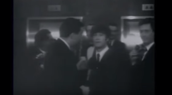 The Beatles messing with the press