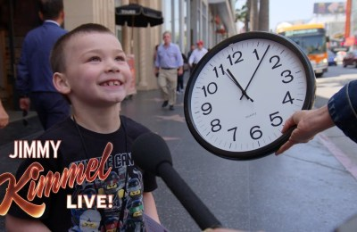 Kids Can't Tell Time Anymore