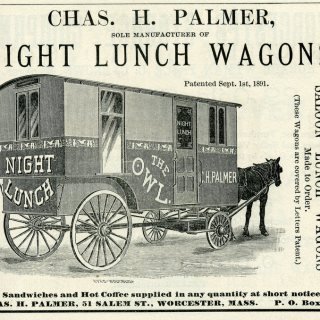 Before Food Trucks, Americans Ate 'Night Lunch' From Beautiful Wagons