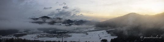 Kronplatz at dawn