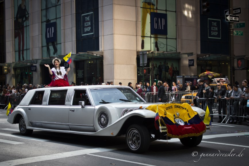 A parade on 5th Avenue