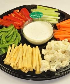 Grønnsaker med dipp