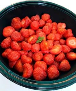 Jordbær med fløte