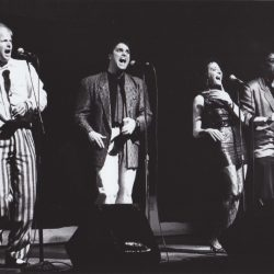 Bobs on Stage circa 1985