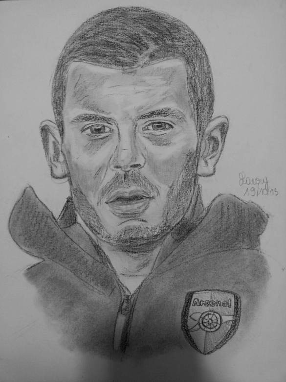 Jack Wilshere by Laury Layani
