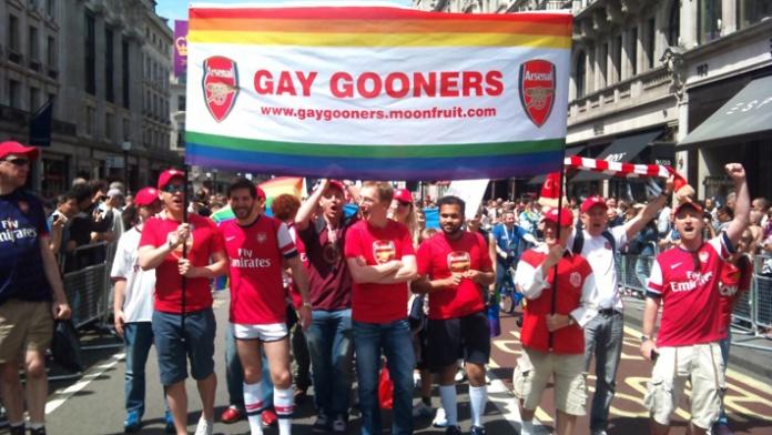 Gay Gooners marrch