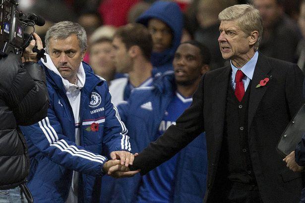 Arsene Wenger Jose Mourinho