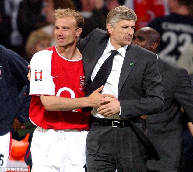 Dennis Bergkamp Arsene Wenger