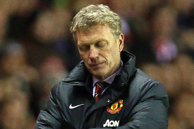 Moyes endured a nightmare tenure at Old Trafford