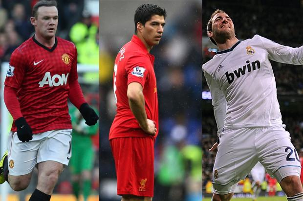 Suarez Rooney Higuain