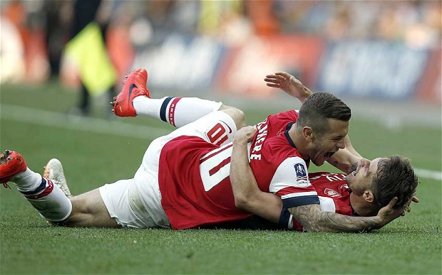 Ramsey Wilshere FA Cup