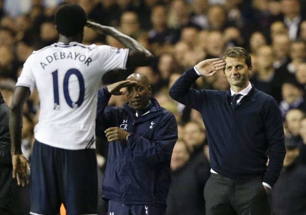 Tim Sherwood Emmanuel Adebayor