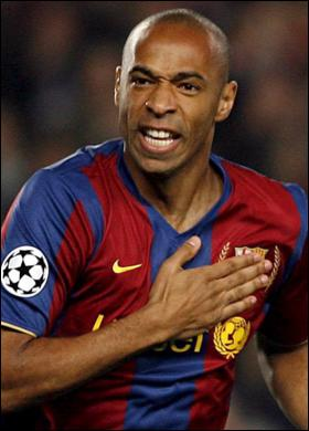 Thierry teared me apart!