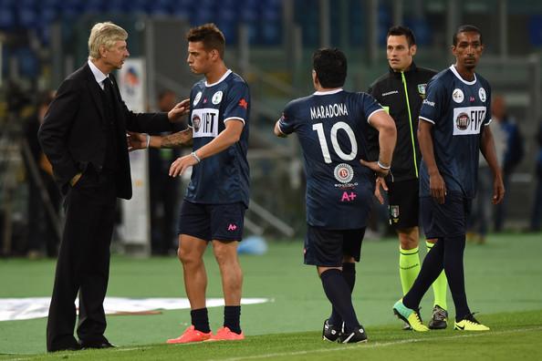 Arsene Wenger Rome