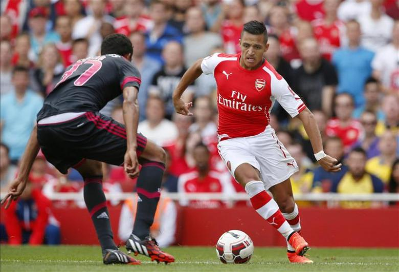 Individual brilliance from Alexis but who else?