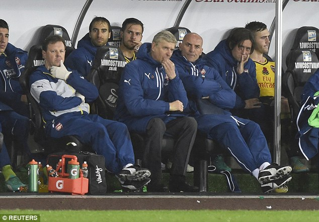 Arsenal collapsed again at Swansea