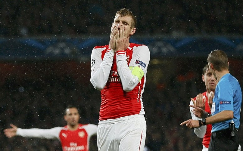 Mertesacker, like others, hasn't had a good season so far