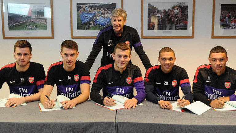 Can Wenger take any credit for these boys?