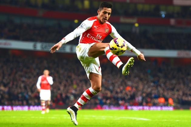 Alexis still on fire with superb goal v Tigers