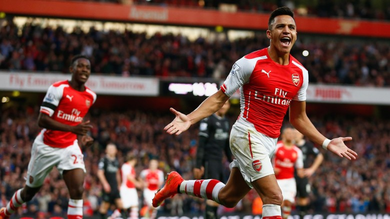 Last time we faced Burnley Alexis made short work of it
