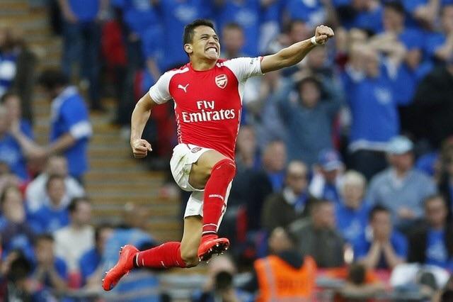 Alexis Wembley FA Cup Semi