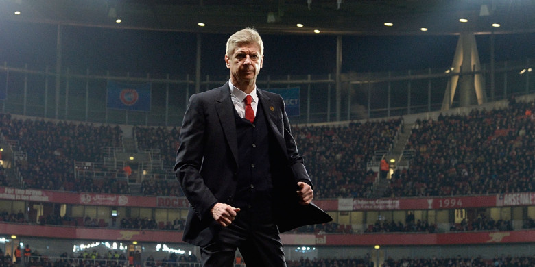 Arsene's ready for a fight