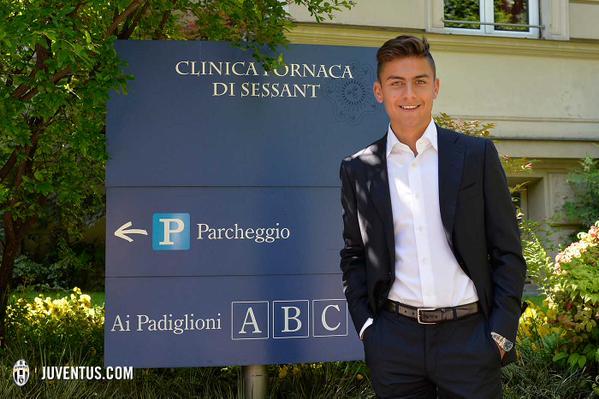 Dybala joins Juventus