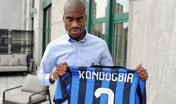 Geoffrey Kondogbia signs for Inter