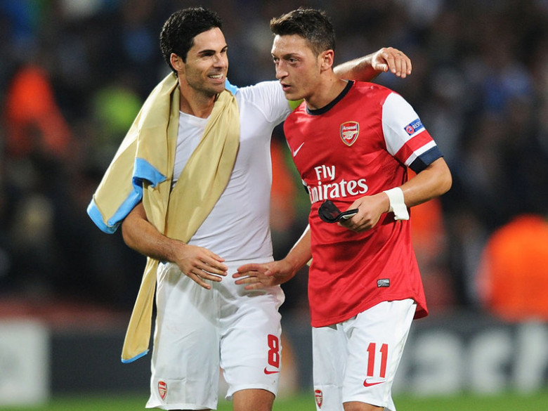 We missed Arteta and Ozil