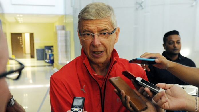 Wenger - Enigmatic in Singapore