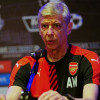British Premier League football club Arsenal manager Arsene Wenger speaks during a press conference for the Barclays Asia Trophy 2015 (BAT) in Singapore on July 14, 2015. AFP PHOTO /MOHD FYROLMOHD FYROL/AFP/Getty Images