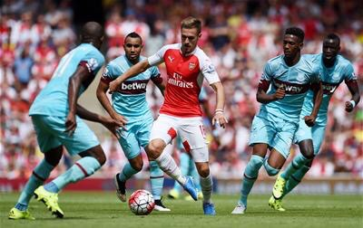 Ramsey doesn't perform Cazorla's playmaker role very well.