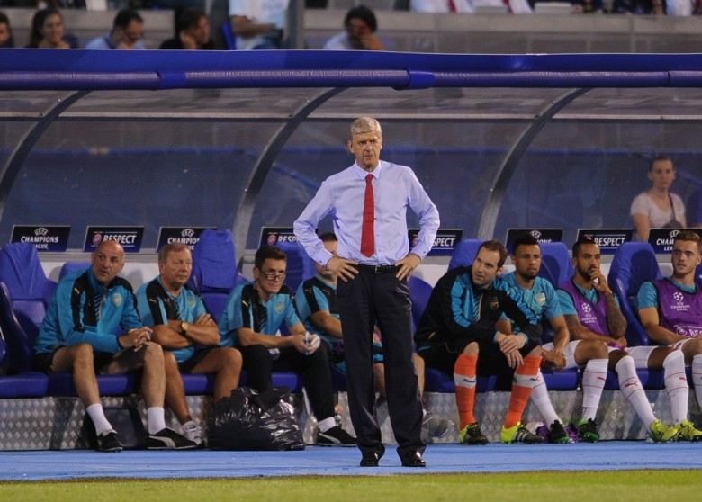Unhappy Arsene